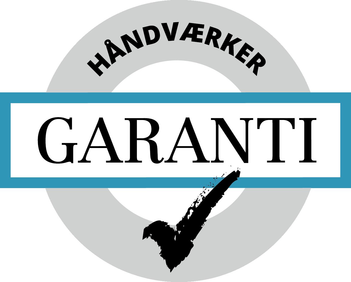 Håndværker garanti logo